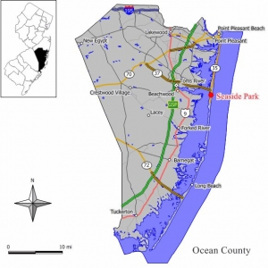Vacation Rental 21L Street Seaside Park Beach New Jersey